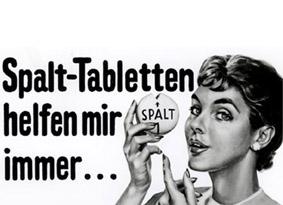 Spalt wird 75 Jahre – Spalt-Tablette: Diese Kerbe kennt fast jeder