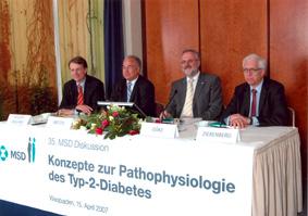 DPP-4-Hemmung: Premiere für ein neues Prinzip in der Therapie des Diabetes Typ 2 – JANUVIA® senkt den Blutzuckerspiegel bedarfsgerecht