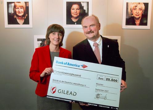 Engagement für Lebererkrankungen: – Gilead unterstützt die Deutsche Leberstiftung