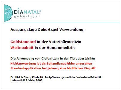 Dr. med. Andreas F. Schaub: Geburtsgel Dianatal®: Schutz von Mutter und Kind