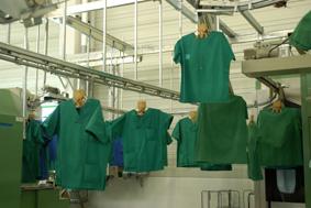 Clostridium difficile – neue Gefahr am Krankenbett – Bedeutung der Wäschehygiene bei der Infektionsprophylaxe