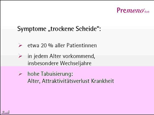 "Dr. med. Knut O. K. Hoffmann: Tabuthema: ""Trockene Scheide"" Unter vier Augen – Erfahrungen aus der Frauenarztpraxis"