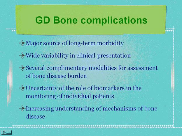 Gregory M. Pastores, MD: Bone manifestations in Gaucher disease