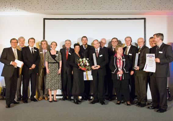 Der Mensch im Mittelpunkt: Patientenorientierte Initiativen gewinnen Janssen-Cilag Zukunftspreis 2008