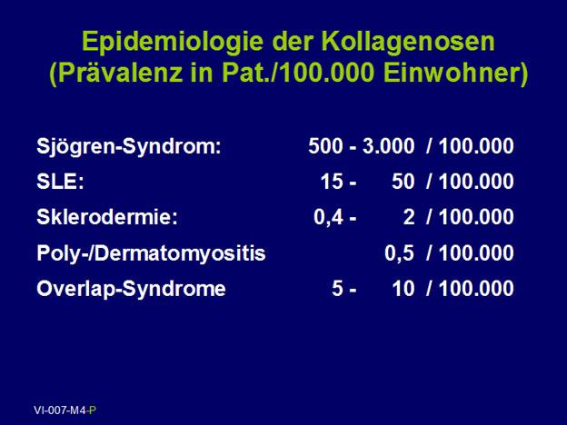 PD Dr. med. Michael Sticherling: Epidemiologie und Pathophysiologie der Kollagenosen