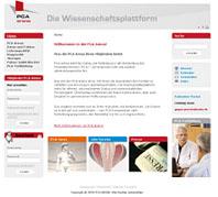 www.pca-arena.de – Wissenschaftsplattform für Ärzte neu im Netz