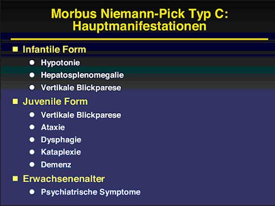 Prof. Dr. Thorsten Marquardt: Morbus Niemann-Pick Typ C – aktuelle Daten zur Diagnostik und Therapie