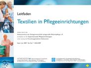 "Leitfaden ""Textilien in Pflegeeinrichtungen"""