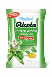 Ricola präsentiert: Zitronen‑Verbena mit Weißem Tee