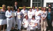 Erfolgreicher Abschluss der Qualifizierten Pflegehelfer in der BaWiG