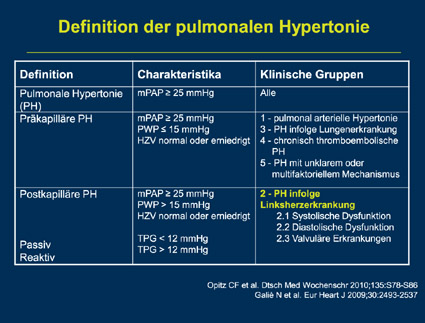 Prof. Dr. med. Marius Hoeper/PD Dr. med. Christian Opitz: Non-PAH-PH: Was ist das eigentlich?