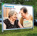Diakonie startet Plakat-Kampagne zur Nächstenliebe: In der Nächsten Nähe