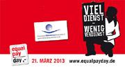 """Equal Pay Day auch für Hebammen: Schluss mit """"viel Dienst für wenig Verdienst"""""""