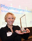 Bundesverband Pflegemanagement: Preisverleihung an die Gewinner des Pflegemanagement-Awards 2014 für Nachwuchsführungskräfte