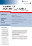 """""""Bulletin zur Arzneimittelsicherheit"""" – erste Ausgabe 2014 erschienen"""