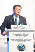 """Frank Schirrmacher beim Schmerz- und Palliativtag: """"Wir brauchen einen Wertewandel in der Gesellschaft"""""""