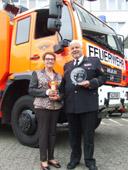 Ehrenamtliches Engagement politisch aufwerten: Deutscher Feuerwehrverband erhält Reha-Preis