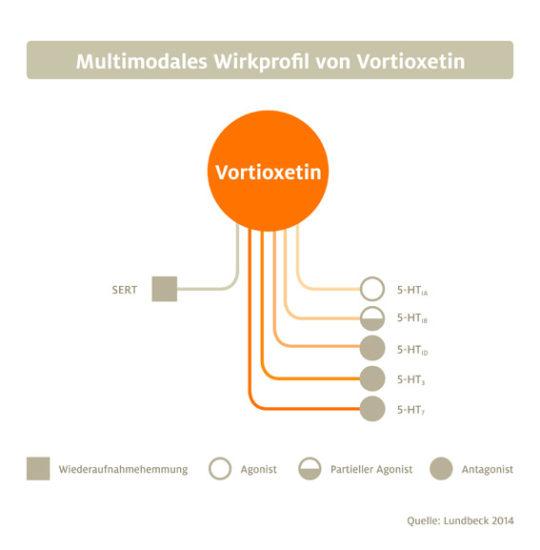 Wirkmechanismus und Studiendaten: Vortioxetin