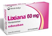 Vorhofflimmern und venöse Thromboembolien: Zulassung für LIXIANA® − Neues orales Antikoagulanz von Daiichi Sankyo