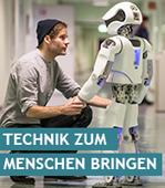 Aktuelle Umfrage: Service-Roboter statt Pflegeheim?