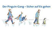 Sturzvermeidung: Bei Glatteis raten Orthopäden und Unfallchirurgen zum Pinguin-Gang