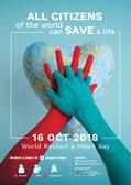 """Weltweit Leben retten: Jetzt mitmachen beim ersten """"World Restart a Heart Day"""""""