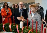 Zum zehnten Mal überreicht die Diakonie Deutschland dem Bundestag einen Wichern-Adventskranz