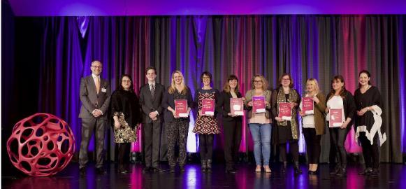 MS-Pflegekräfte zum 11. Mal in Folge gewürdigt: MS-Schwester des Jahres 2018 ausgezeichnet