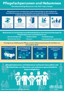 DBfK: WHO-Poster zu Rolle und Potenzial von Pflegenden und Hebammen