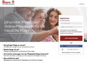Unterstützung von pflegenden Angehörigen: Neues Angebot: der Johanniter-Pflegecoach