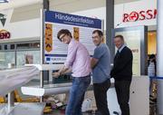 """""""Sporosan"""": Revolutionäres Händedesinfektionssystem für öffentliche Orte"""