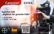 """25.06.2020, Experten-Talk """"Hightech für gesunde Füße"""""""