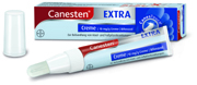 Fuß- und Nagelpilz gründlich bekämpfen: Canesten® EXTRA: Doppelter Angriff auf die Ergosterol-Synthese eliminiert die Pilzerreger