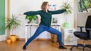 Die zehn besten Yogaübungen fürs Homeoffice