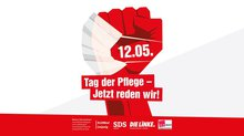 Ver.di-Kundgebung in Leipzig am 12. Mai zum Tag der Pflegenden: Tag der Pflege – Jetzt reden wir!