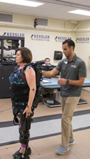 Exoskeleton therapy improves mobility, cognition and brain connectivity in people with MS